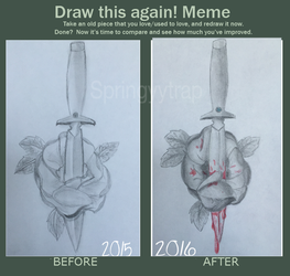 Draw This Again! [Meme] by oh-no-Castiel