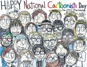 Happy National Cartoonists Day 2018!