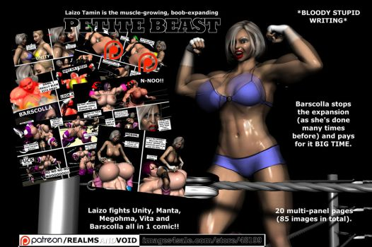 Petite Beast (front cover) by EdgarSlam