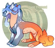 Day 7 - Advent CLOSED - Late Frosted Autumn by GentleLark