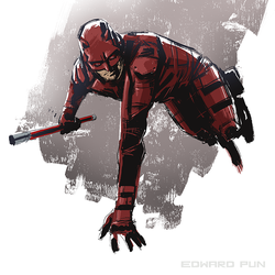 Daredevil by pungang