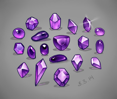 Jewels study by MariaCalavera