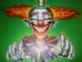 killer klown by magaggie