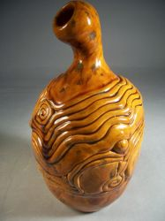 Fluted Coiled Vase by shesmells