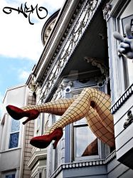 Haight Street Legs by alexrmay91
