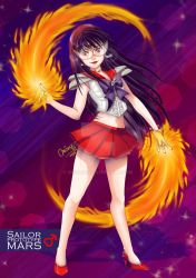 Prototype Sailor Mars by MiriArt
