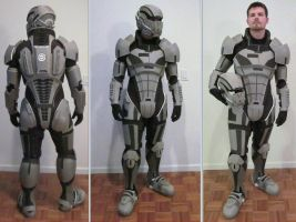 N7 Armor Test Fit III by hsholderiii