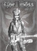 Lemmy, the boss by YoteMan
