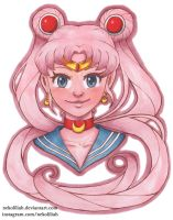 Pink Sailor Moon by NekoLiliah