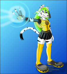 GFT-The Cyber Tigress Sleuth by dantiscus