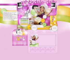 Design ft.Ashley Tisdale by AnneRDobbs