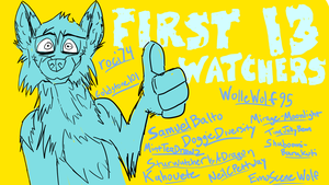 Thank You, Watchers!  It means a lot! by EpicSaveRoom