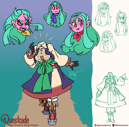 Questcade #4: Cheanne the Dullahan by The-Knick