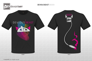 Devious BEAST T-Shirt by SanguineEpitaph