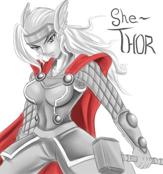 She Thor by BNNM040
