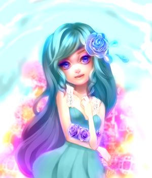 AT: Genie by Sunflorii