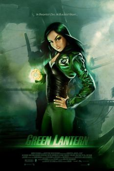 Green Lantern Movie Poster by SlimSpidey