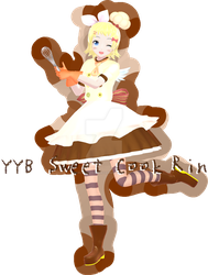 YYB Sweet Cook Rin  [possible download??? idk] by ImNerdyWhoGivesADamn