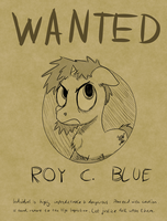 Roy Wanted Poster by baratus93