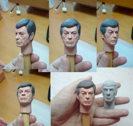 McCoy Sculpt - painted sample! by DarrenCarnall