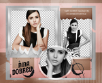 Png Pack 1034 // Nina Dobrev by confidentpngs
