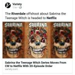 Chilling Adventures of Sabrina Coming to Netflix!  by RobertHack