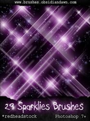 GIMP Sparklies Brushes by Project-GimpBC