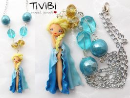 Elsa - Frozen by tivibi