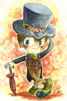 Jiminy Cricket by Chibi-Joey