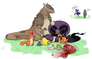 It's a picnic aigh by JustMiri