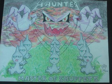 Haunter, Master of Shuppets by DuneTheZangoose