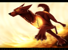 .: Running On Fire :. by Agelenawolf