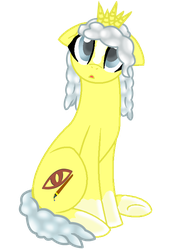 Strange blind mare by DraconianQueen