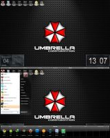 Umbrella Desktop Test by bishou-no-soujiro