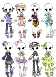 .:Adopted:. Outfit Batch 02 by DevilAdopts
