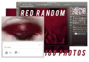 RED RANDOM // PACK BY REALOVEPS by realoveps