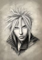 Cloud Strife 2 by empyrea1