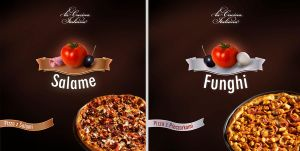 pizzas by artmajster