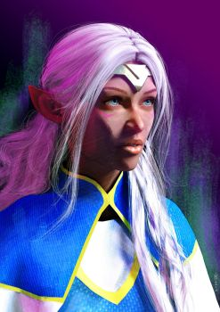 Voltron - Princess Allura by Azkas19