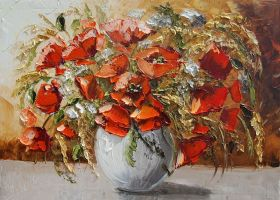 Poppies ( in the description link on YT to tutoria by Kasia1989