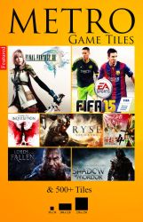 Windows 8 - 8.1 Metro Games Mega Pack v5.5 by xagunkx
