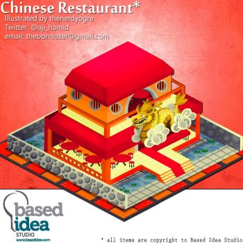 A Chinese Restaurant by thenerdyogre