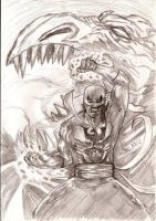 The Inmmortal Iron Fist by nic011