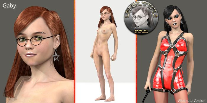Un-used Characters - Gaby by 3-d-c