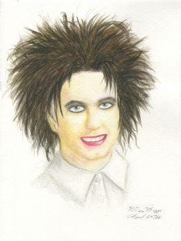 Robert Smith by MouseBorg