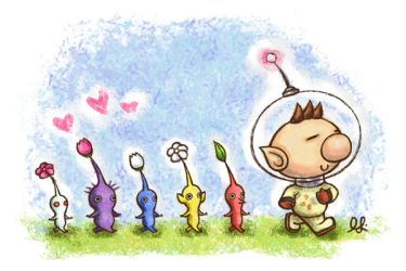 . Pikmin March . by phatpandax3