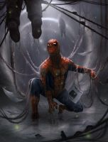 Spidey-web by artofjosevega