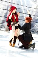 Red Riding Hood [Steampunk] V by leashed-freak