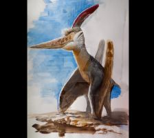 Pteranodon by Lucas-Attwell