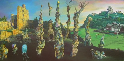 Twilight Morphology Descending from the Ruins by Tolkyes